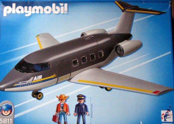 Playmobil 5811 - Jet Airliner - Back
