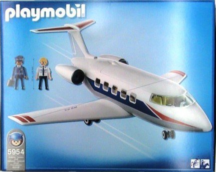 Playmobil 5954 - Jet Plane - Back