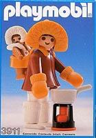 Playmobil - 3911-esp - Eskimo Mother And Baby