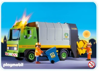Playmobil - 3121s2 - Recycling Truck