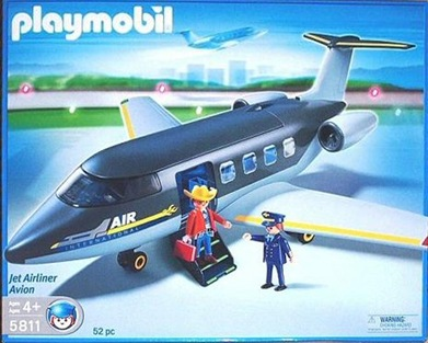 Playmobil 5811 - Avion Private - Boîte