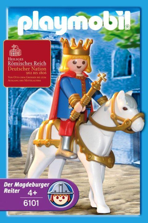 Playmobil 6101 - Magdeburger Rider - Box