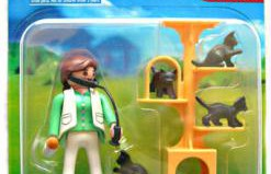 Playmobil - 5822 - Vet and Cat Duo-Pack