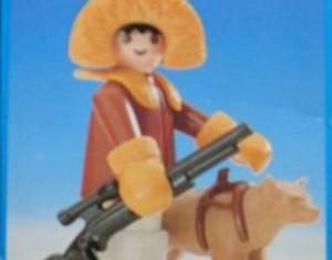 Playmobil - 3910-esp - Eskimo Hunter