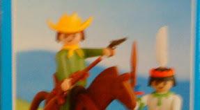 Playmobil - 2008-lyr - Cowboy and Indian