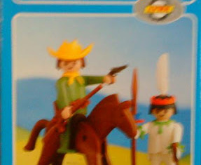 Playmobil - 2008-lyr - Cowboy and Indian