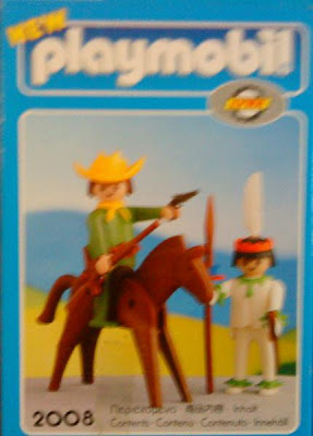 Playmobil 2008-lyr - Cowboy and Indian - Box