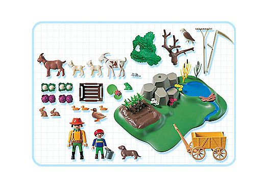 Playmobil 3124s2 - Superset Farm - Back