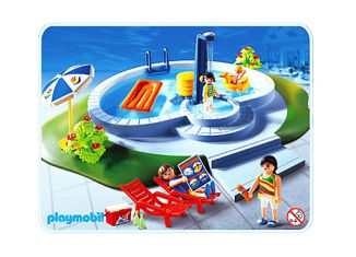 Playmobil - 3205s2 - Swimmingpool