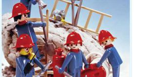 Playmobil - 3234s1 - Set pompiers