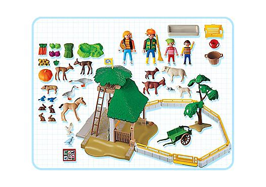 Playmobil 3243s2 - Petting Zoo - Back