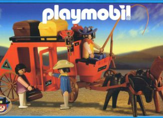 Playmobil - 13254-ant - red stage coach