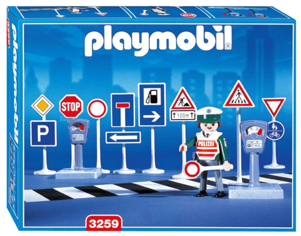 Playmobil 3259s2 - Traffice Signs - Box