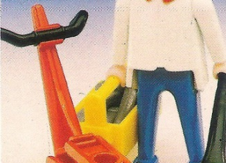 Playmobil - 3303-fam - Mechanic