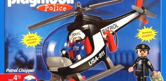 Playmobil - 3324-usa - Polizeihubschrauber