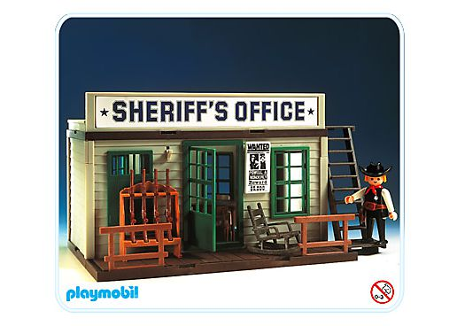 Playmobil 3423v2 Sheriff S Office