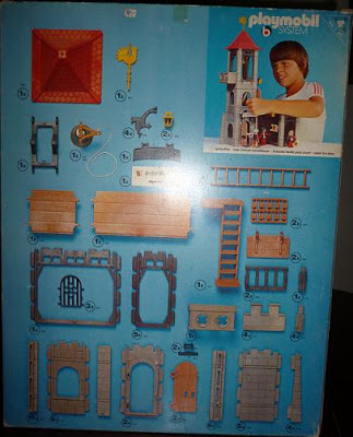 Playmobil 3445 - Castle Tower - Back