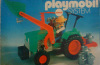 Playmobil - 3500v2-ant - Green Tractor & Farmer