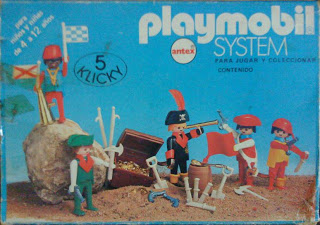 Playmobil 3542-ant - pirates / treasure chest - Box