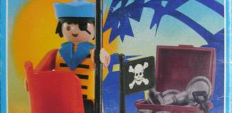 Playmobil - 3570v2-ant - pirate / rowboat