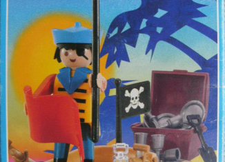 Playmobil - 3570v2-ant - pirate / rowboat