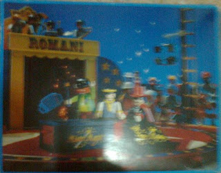 Playmobil 3725 - Circus Magician - Back