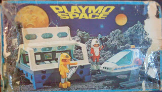 Playmobil 3740-ant - Module and Spacecraft - Box
