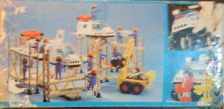 Playmobil 3740-ant - Module and Spacecraft - Back