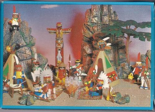 Playmobil 3903v1-esp - Indian Warrior - Back