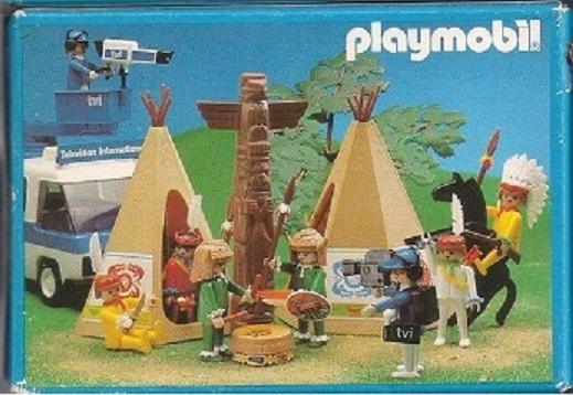 Playmobil 3903v2-esp - Indian warrior - Back