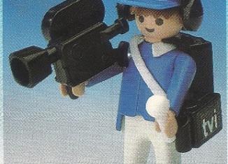 Playmobil - 3904v1-esp - TV Cameraman