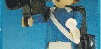Playmobil - 3904v2-esp - TV Cameraman