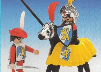 Playmobil - 3906v1-esp - Tournament knight and squire