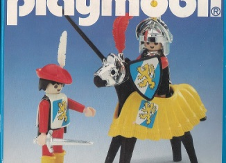 Playmobil - 3906v2-esp - Tournament knight and squire