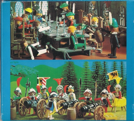 Playmobil 3906v2-esp - Tournament knight and squire - Back