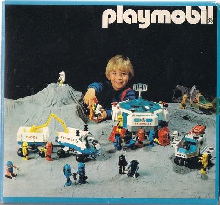 Playmobil 3908-esp - Robot Delta Space - Back