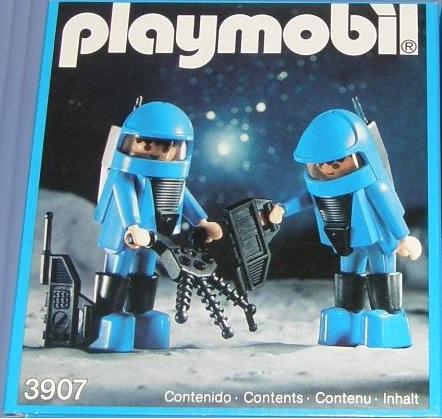 Playmobil 3907-esp - Delta Space - Box