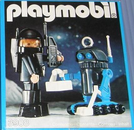 Playmobil 3908-esp - Robot Delta Space - Box