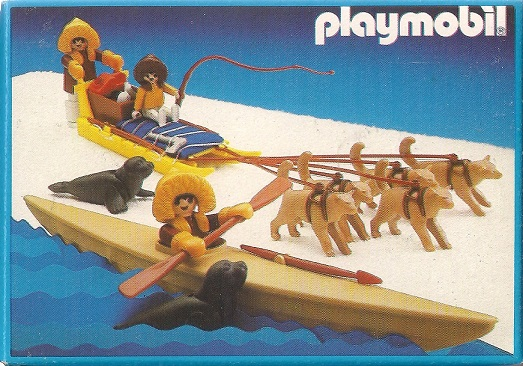 Playmobil 3910-esp - Eskimo Hunter - Back