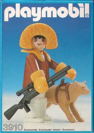 Playmobil 3910-esp - Eskimo Hunter - Box