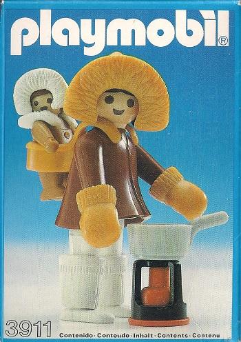 Playmobil 3911-esp - Eskimo Mother And Baby - Box