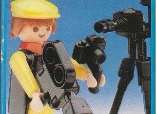 Playmobil - 3914-esp - Cameraman