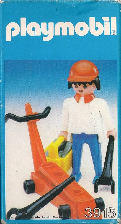 Playmobil 3915-esp - Mechanic - Box