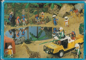 Playmobil 3304v1-esp - Arabian - Back