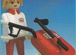 Playmobil - 3917-esp - Gas station attendant