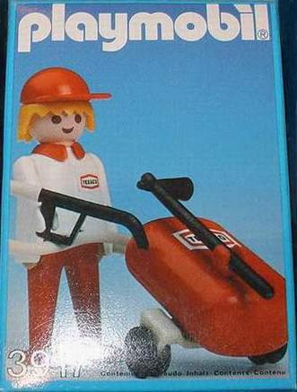 Playmobil 3917-esp - Gas station attendant - Box