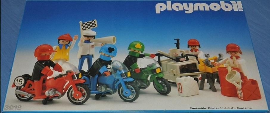 Playmobil 3918-esp - Motorcyclist Riders - Box