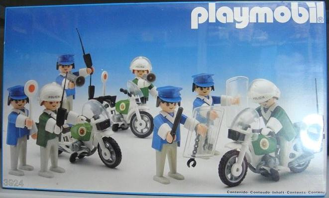 Playmobil 3924-esp - Policemen - Box