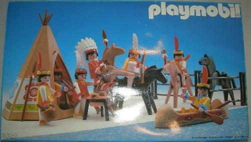 Playmobil 3926-esp - Indians - Box
