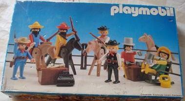 Playmobil 3927-esp - Cowboys - Box